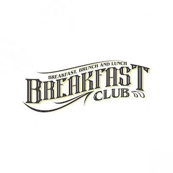 Ontbijt logo ontwerp