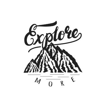 Ontdek meer handgetekende letters logo