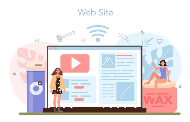 Ontharen en epileren online service of platform. ontharingsmethoden