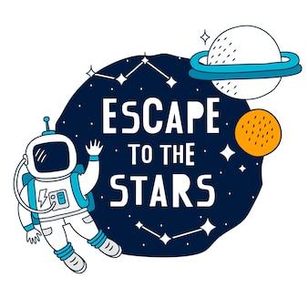 Ontsnap naar de sterren
