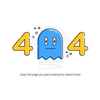 Ontwerp 404 fout