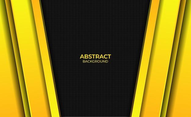 Ontwerp abstracte gele gradiënt heldere achtergrondstijl