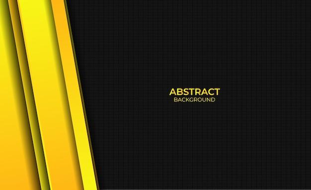 Ontwerp abstracte gele heldere achtergrondstijl met gradiënt
