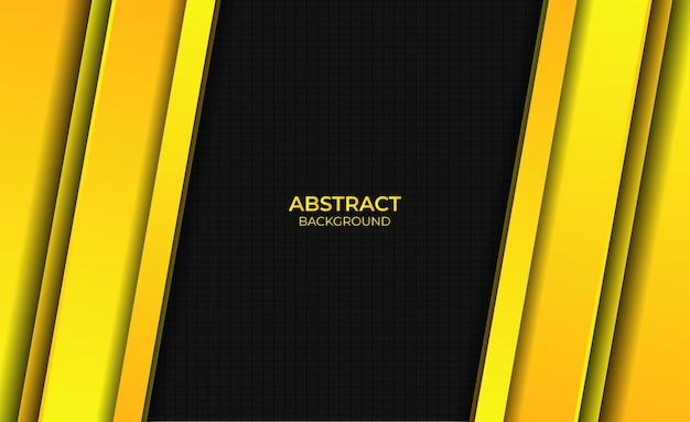 Ontwerp abstracte stijl gele gradiënt heldere achtergrond