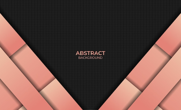 Ontwerp abstracte stijl verloop oranje kleur achtergrond