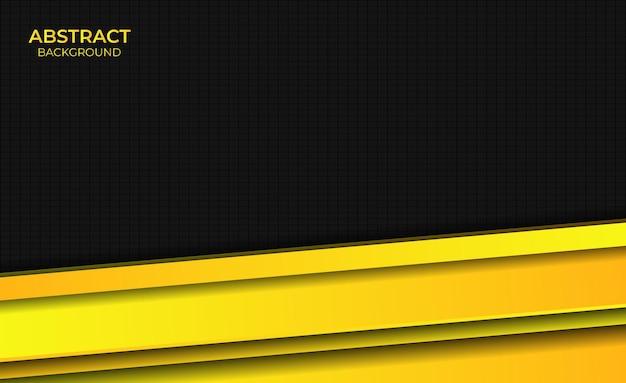 Ontwerp achtergrond gradiënt geel heldere abstracte stijl