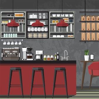 Ontwerp coffe shop & cafe