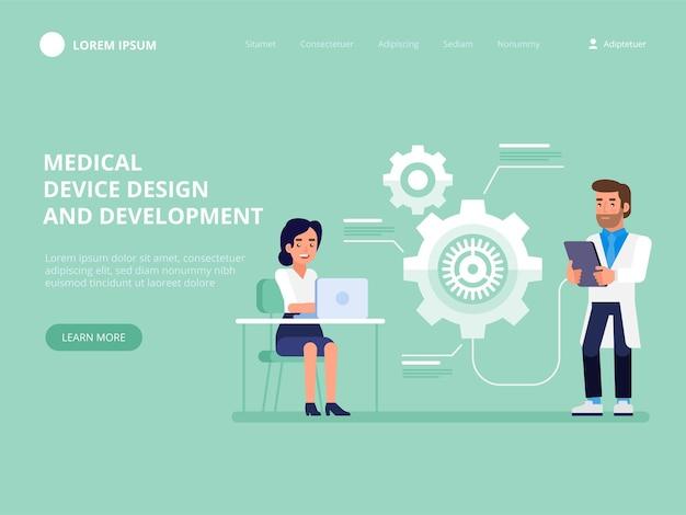Ontwerp en ontwikkeling van medische hulpmiddelen