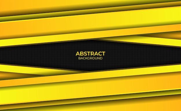 Ontwerp gele gradiënt heldere achtergrond abstracte stijl