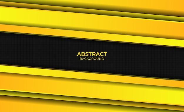 Ontwerp gradiënt geel heldere abstracte achtergrondstijl