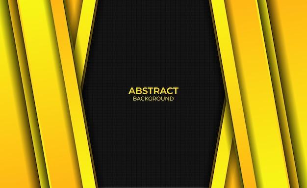 Ontwerp gradiënt geel heldere abstracte stijl achtergrond