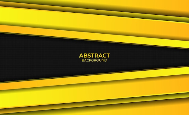 Ontwerp gradiënt geel heldere achtergrond abstracte stijl