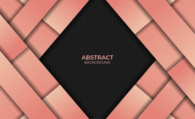 Ontwerp gradiënt oranje kleur achtergrond abstracte stijl