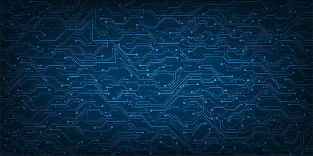 Ontwerp in het concept van elektronische printplaten.
