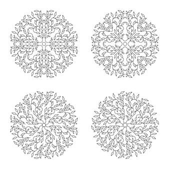 Ontwerp in zwart-wit logo