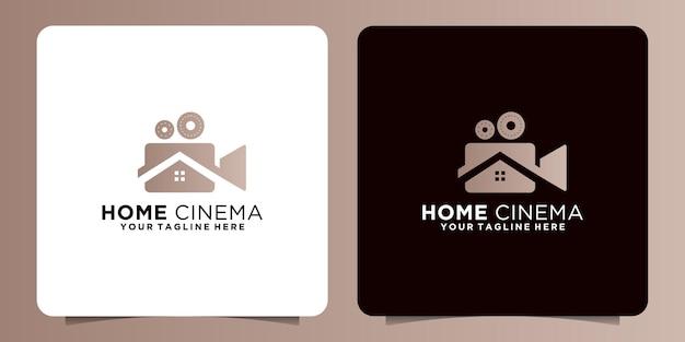 Ontwerp logo creatieve bioscoop filmhuis