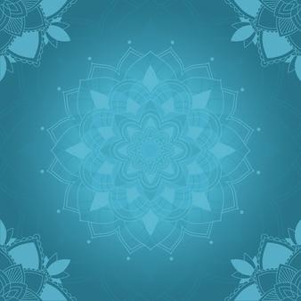 Ontwerp mandala kunst achtergrond
