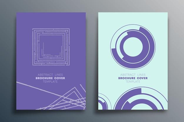 Ontwerp met abstracte lijnen voor flyer, brochureomslag, poster, retro achtergrond, vintage typografie of andere drukwerkproducten. vector illustratie.
