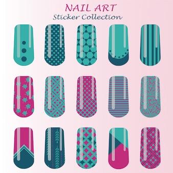Ontwerp met nail art