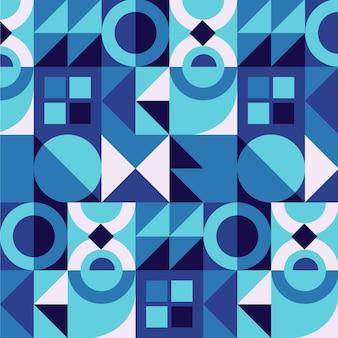 Ontwerp met plat mozaïekpatroon
