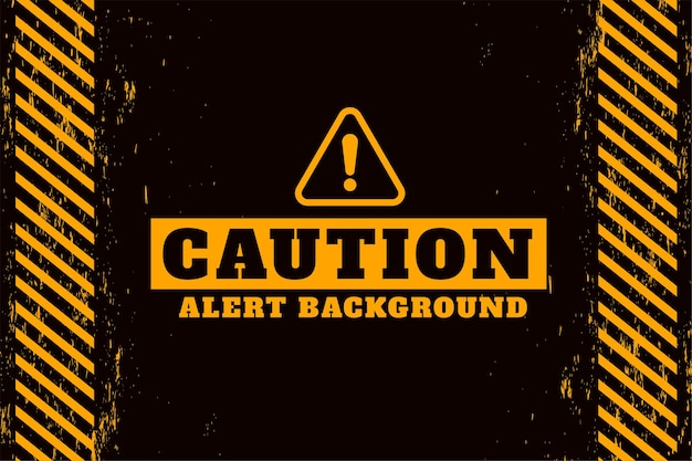 Ontwerp met waarschuwingswaarschuwing