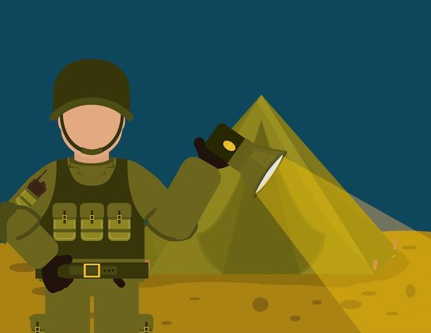 Ontwerp militaire strijdkrachten