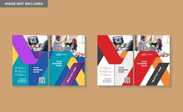 Ontwerp omslag boek brochure lay-out flyer poster achtergrond jaarverslag