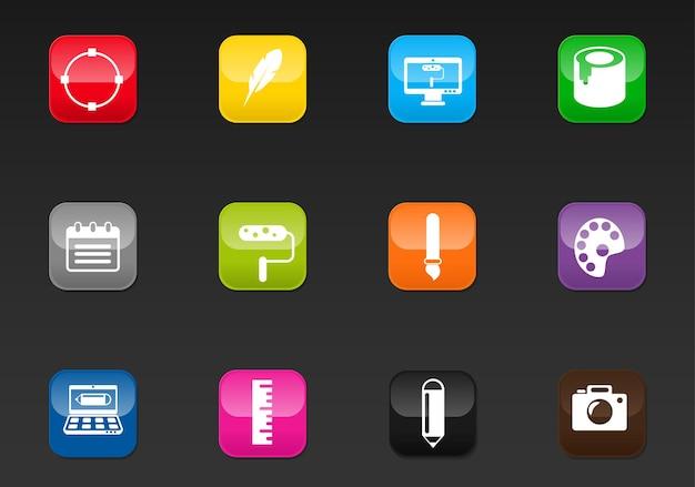 Ontwerp professionele webpictogrammen voor uw ontwerp