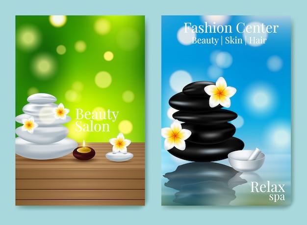 Ontwerp reclameposter voor cosmetisch product voor catalogus