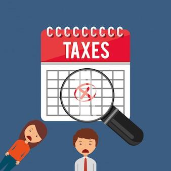 Ontwerp van belastingtijd