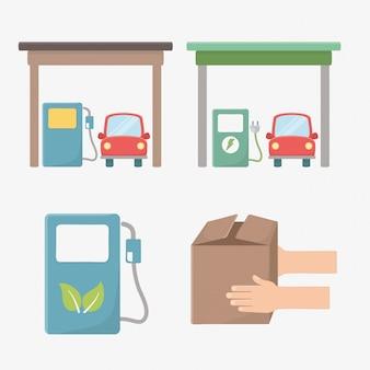 Ontwerp van biobrandstoffen en natuurlijke brandstof