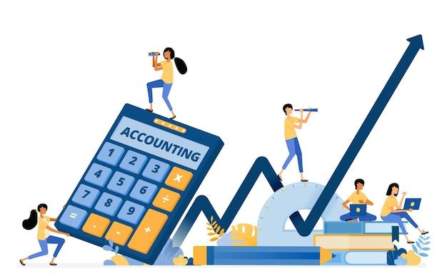 Ontwerp van boekhoudkundige opleiding en financiële geletterdheid om de economische groei te verbeteren.