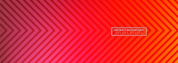 Ontwerp van de abstracte geometrische spandoeksjabloon
