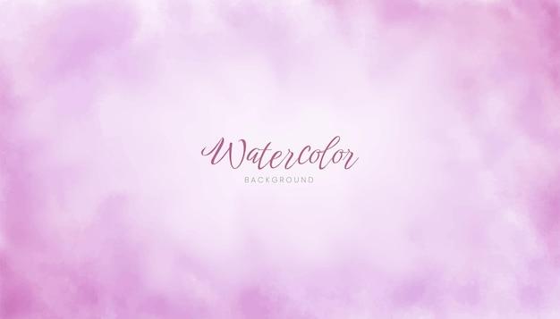 Ontwerp van de achtergrond van de paarse abstracte waterverftextuur