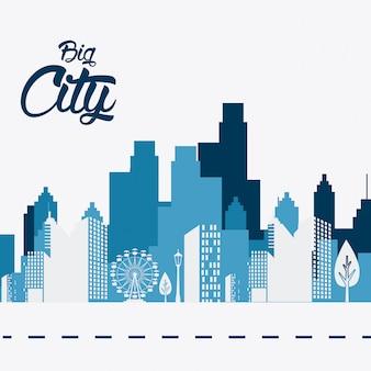 Ontwerp van de stad.