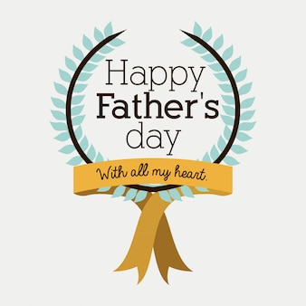 Ontwerp van de vaderdag