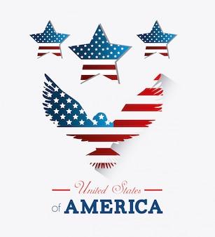 Ontwerp van de verenigde staten.