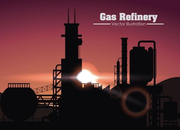 Ontwerp van een gasraffinaderij