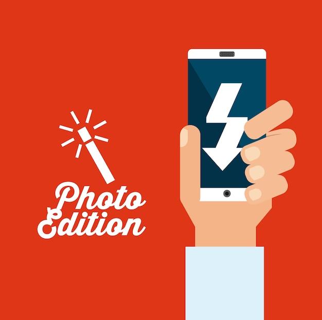 Ontwerp van foto-edities