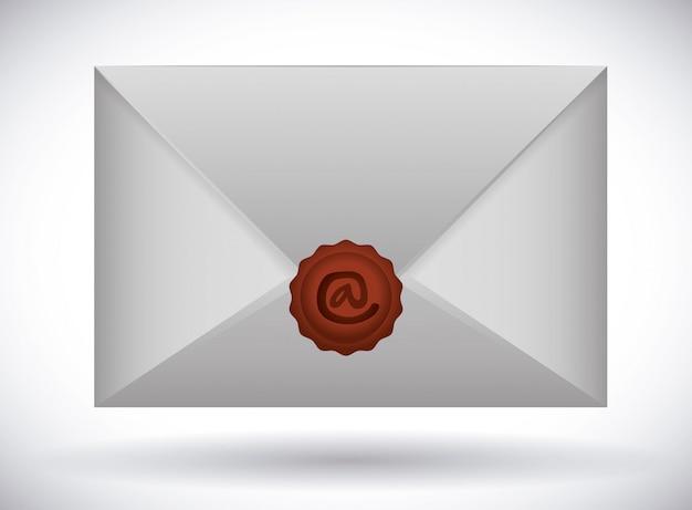 Ontwerp van het e-mailpictogram