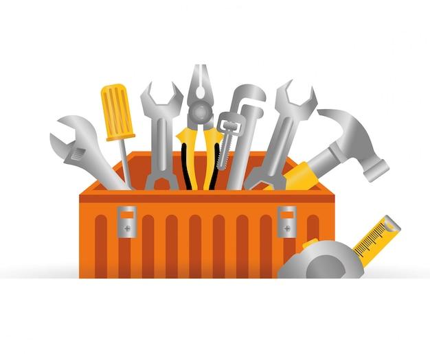Ontwerp van hulpmiddelen. vogelkooien pictogram. decoratie object. vintage concept, vector grafiek