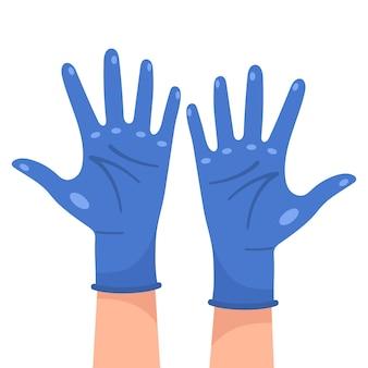 Ontwerp van medische beschermende handschoenen