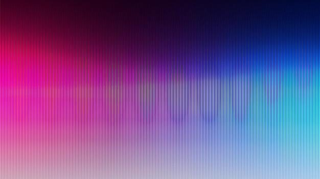 Ontwerp van neon abstracte lijnen op gradiëntachtergrond.