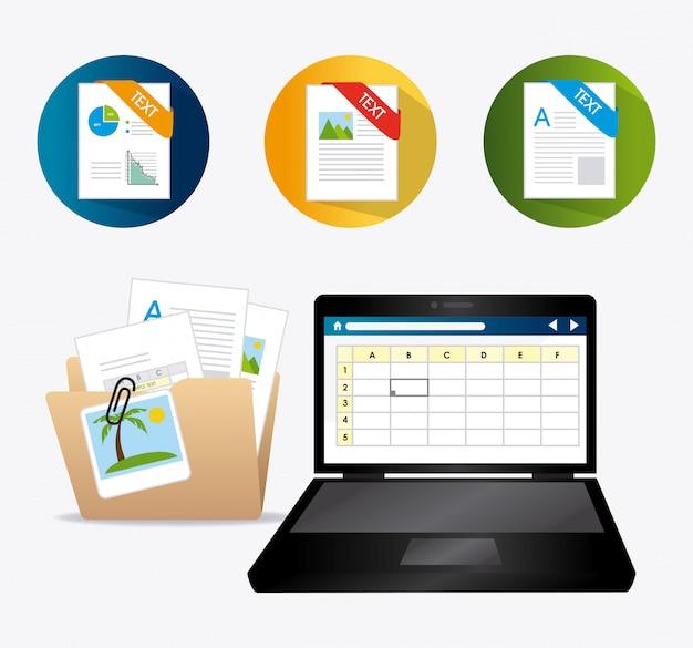 Ontwerp van spreadsheets.