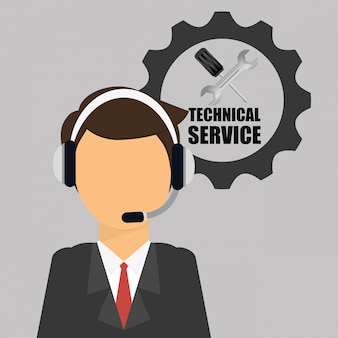 Ontwerp van technische service