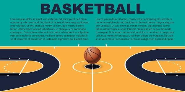 Ontwerp voor basketbal