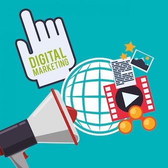 Ontwerp voor digitale marketing