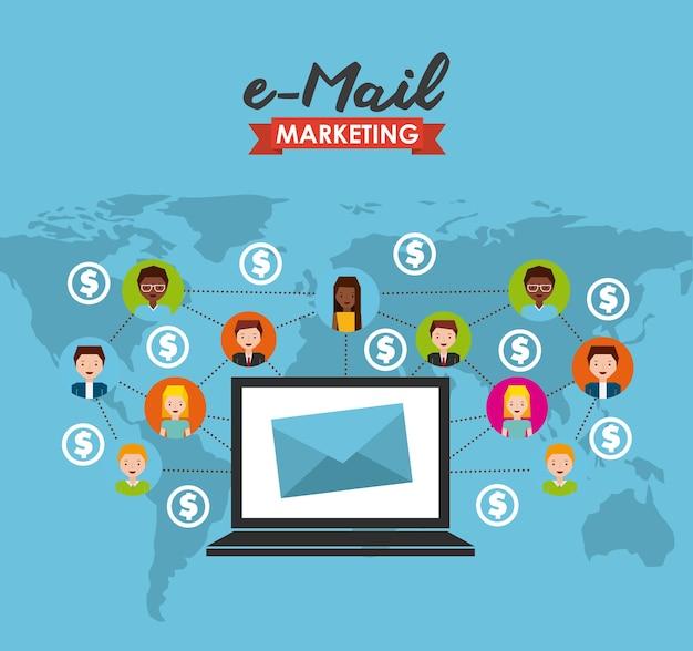 Ontwerp voor e-mailmarketing