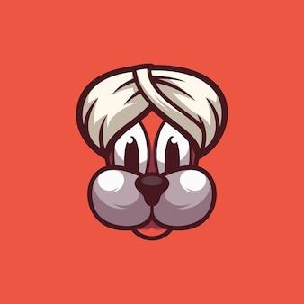 Ontwerp voor hondenmascotte