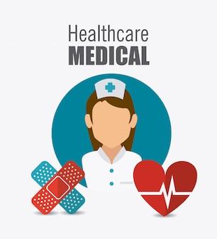 Ontwerp voor medische zorg.